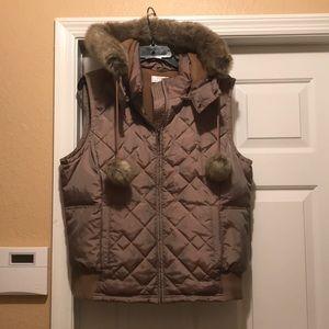Ann Taylor Loft  sleeveless ski Jacket